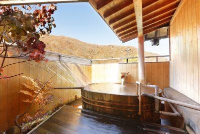 Private open-air bath