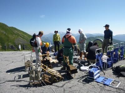 平湯,乗鞍,登山道,整備