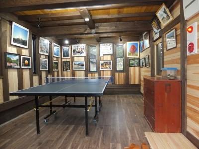 卓球台,奥飛騨,写真