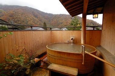 屋上露天風呂