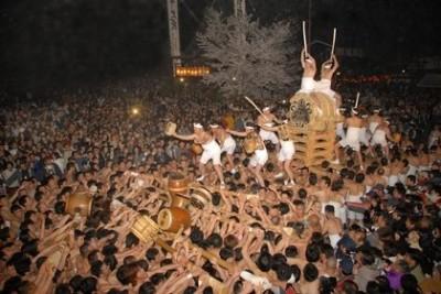 古川,祭り,起し太鼓
