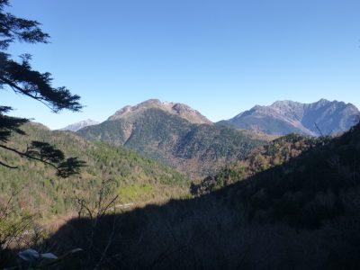 安房山,焼岳,穂高連峰,