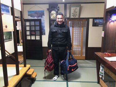 Josue Sanabria 新穂高ロープウェイ MX