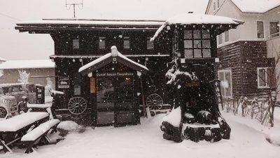 平湯,雪景色