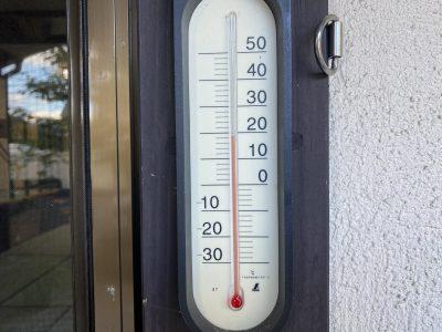 平湯,気温