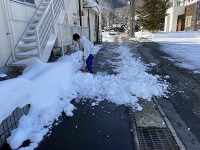 ボランティア,道路,除雪