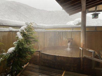 雪見,露天風呂