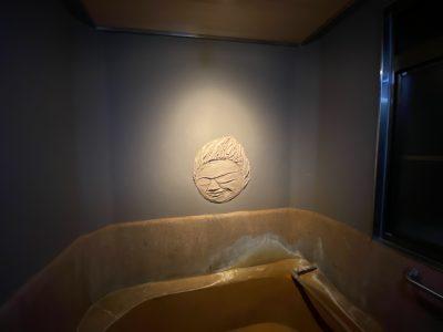挟土秀平,円空,浴室,壁画,貸切風呂