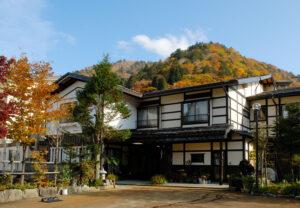 日本,古い,建物